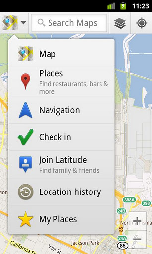 Google Maps 1    Google Maps 6.5.0